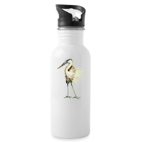 Great Blue Heron - Water Bottle