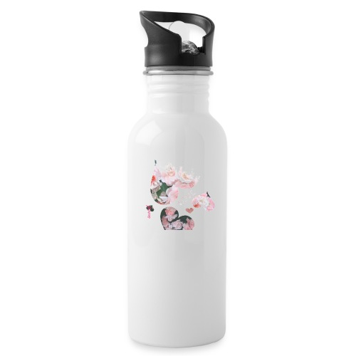 Roses with love, sweet - Water Bottle