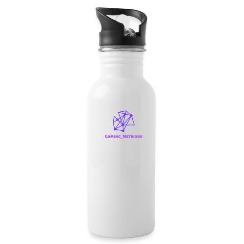 gaming network purple drink bottle - Water Bottle