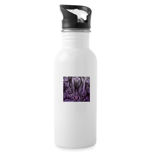see no hear no - Water Bottle