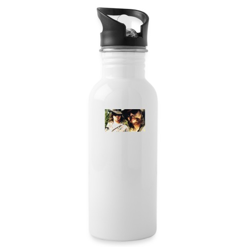 Jaw Thrust Cover Art - Water Bottle