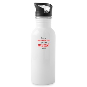 Homeschool Kid Warning - Water Bottle