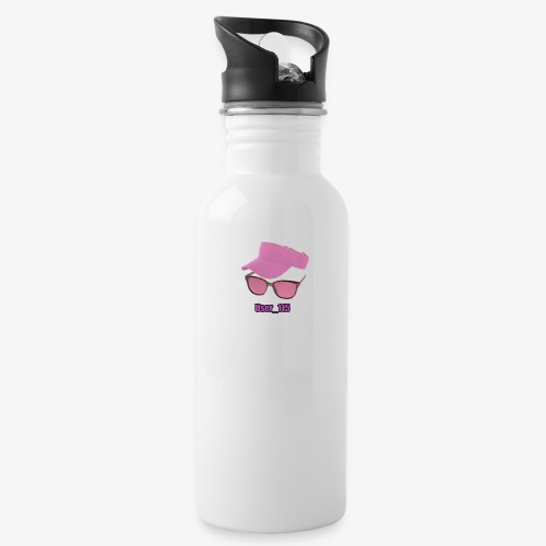 Glasses And Hat - Water Bottle