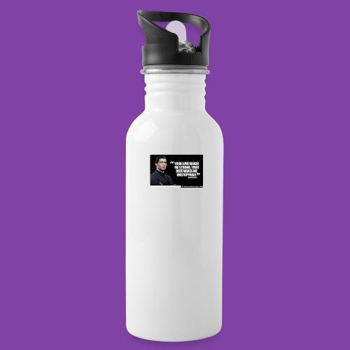 255777-Cristiano-ronaldo------quote-w - Water Bottle