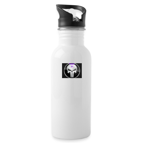 Team 21 white - Water Bottle