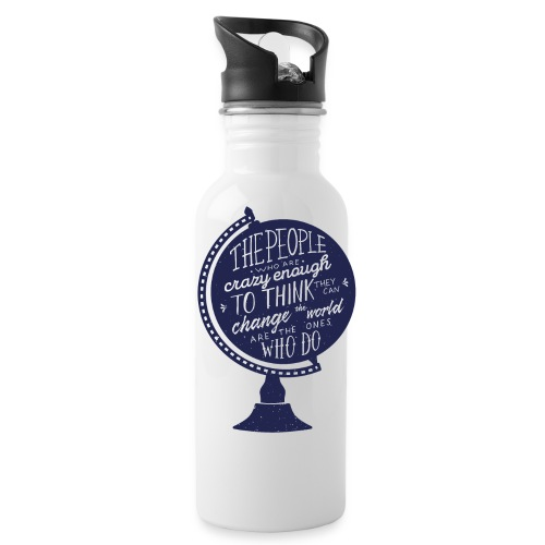 change the world - Water Bottle