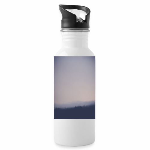 Foggy forest - Water Bottle