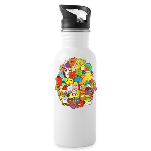 Doodle for a poodle - Water Bottle