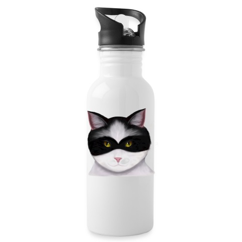 I am called the Masked Cat - Water Bottle