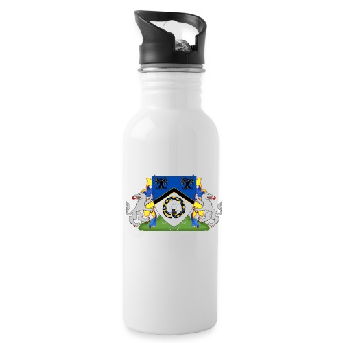 Kingdom of Hrafnarfjall Coat of Arms - Water Bottle