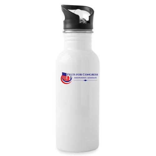 Felts For Congress Logo - Water Bottle