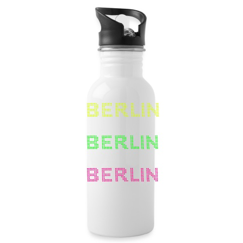 Berlin dots-font - Water Bottle