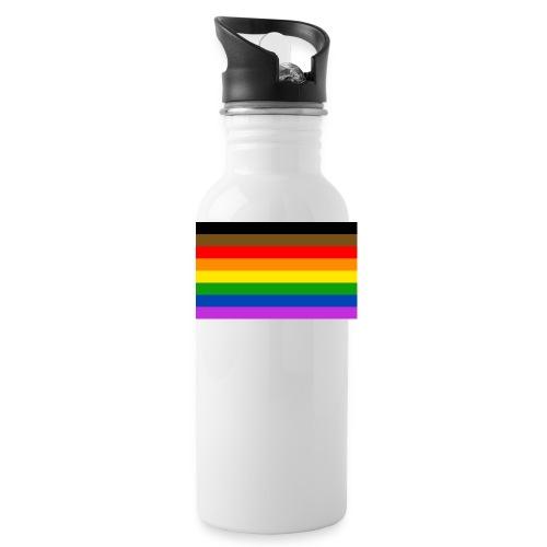 More Color More Pride Flag - Water Bottle