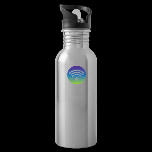 Colorful Divine Frequency - Water Bottle