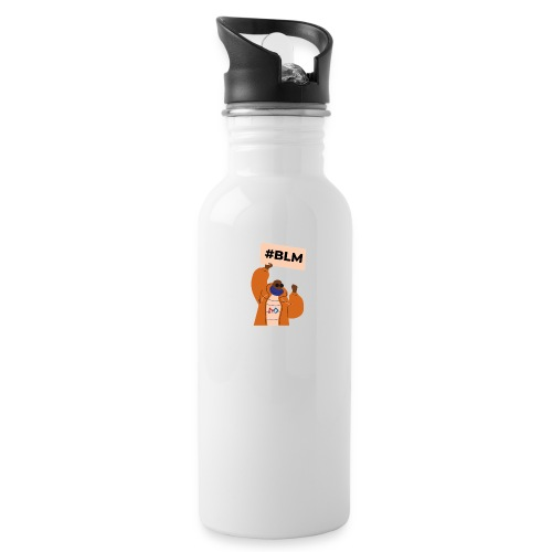 #BLM FIRST Man Petitioner - Water Bottle