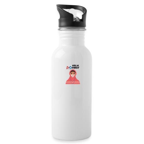 #BLM FIRST Muslim Woman BLM Supporter - Water Bottle
