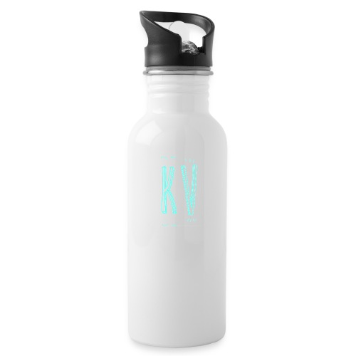 KevinsVids Logo - Blank - Water Bottle