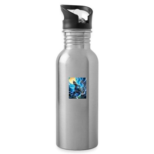 Blue lighting dragom - Water Bottle