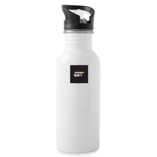 BT logo golden - Water Bottle