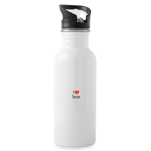 Iman designstyle i love mm - Water Bottle