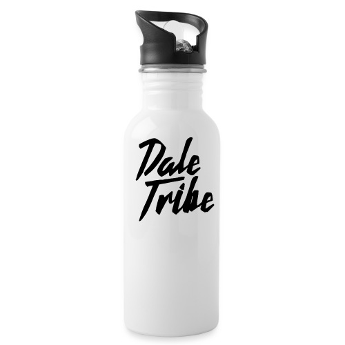 Dale Tribe Logo BLACK - Water Bottle