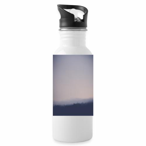 Foggy forest - Water Bottle