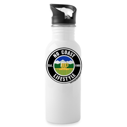 No Coast Black - Water Bottle
