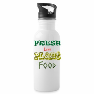 Fresh Live Plant Food - Water Bottle