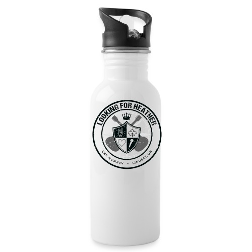 Looking For Heather - Crest Logo - Water Bottle