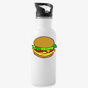 Comic Burger - Water Bottle