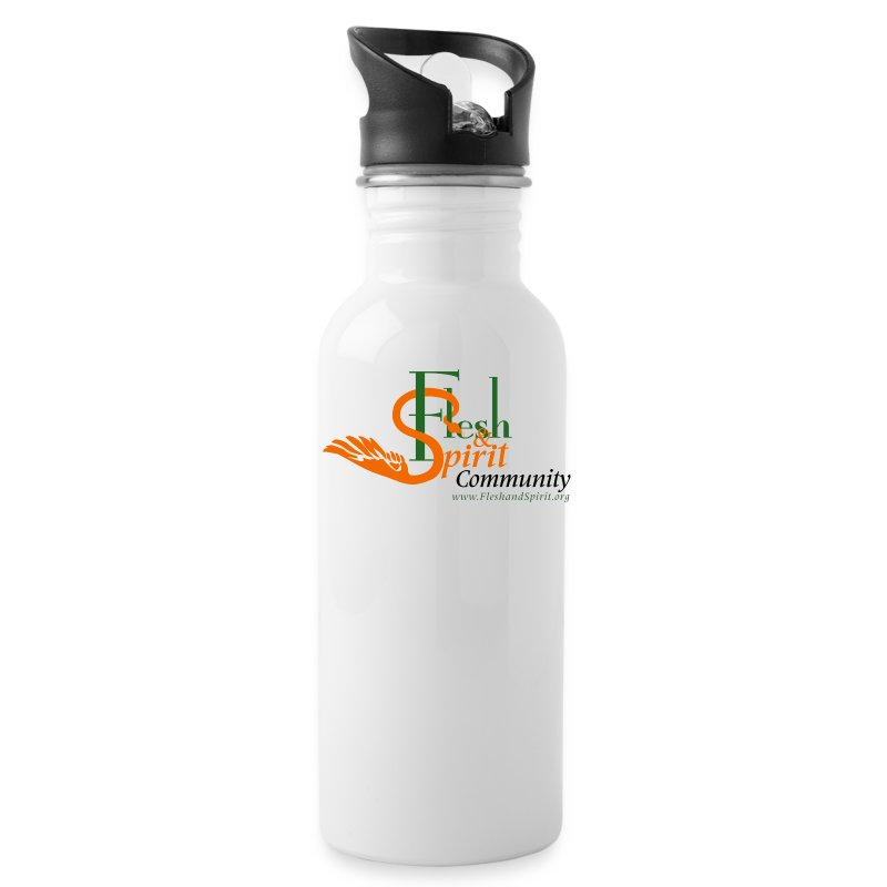 Flesh and Spirit Community T-Shirt - Water Bottle
