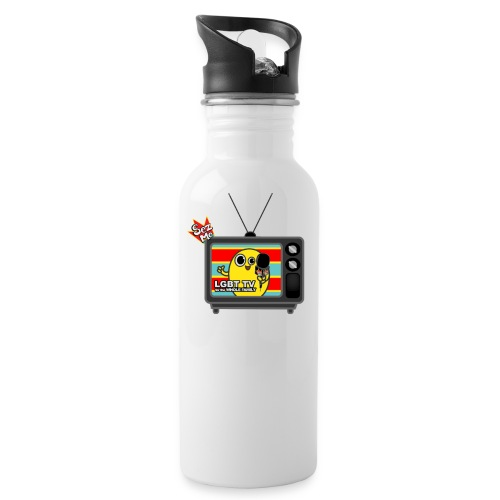 Old TV shhirt png - Water Bottle