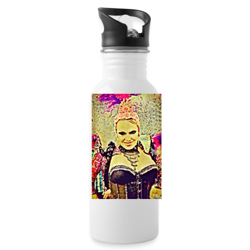 Lady in costume - Water Bottle