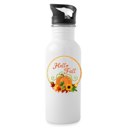 hello fall - Water Bottle