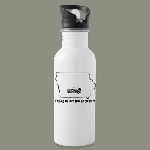 river black - Water Bottle