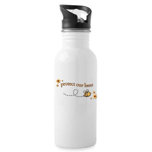 save the bees - Water Bottle