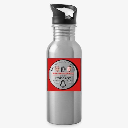 Mini Battlefield Games Podcast - Water Bottle