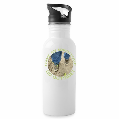 Have an Adventure-Go Outside! - Water Bottle