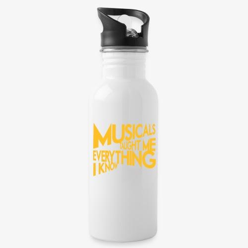 MTMEIK White Logo - Water Bottle