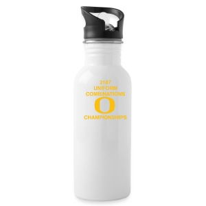 2187 UNIFORM COMBINATIONS O CHAMPIONSHIPS - Water Bottle