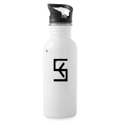 Soft Kore Logo Black - Water Bottle