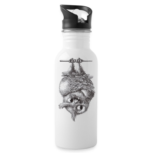 Vampire - Dracula Owl - Water Bottle