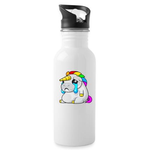 Alasdair unicorn crying - Water Bottle