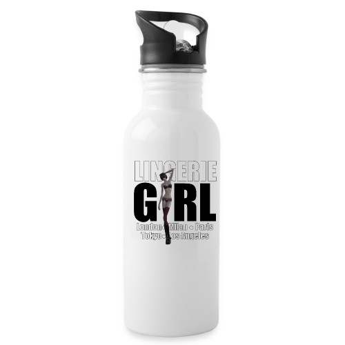 The Fashionable Woman - Lingerie Girl - Water Bottle