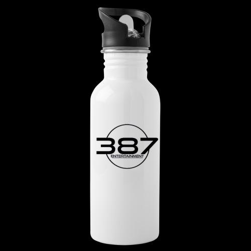 387 Entertainment Black - Water Bottle