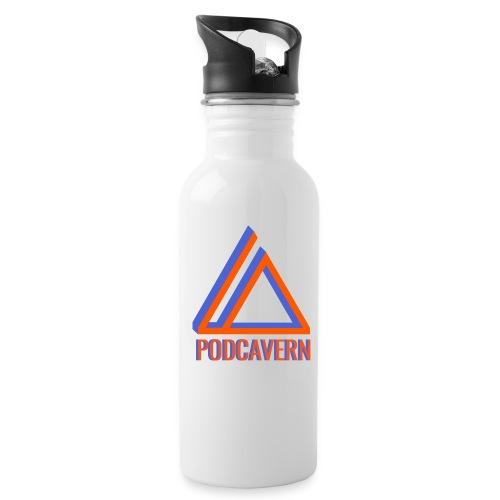 PodCavern Logo - Water Bottle