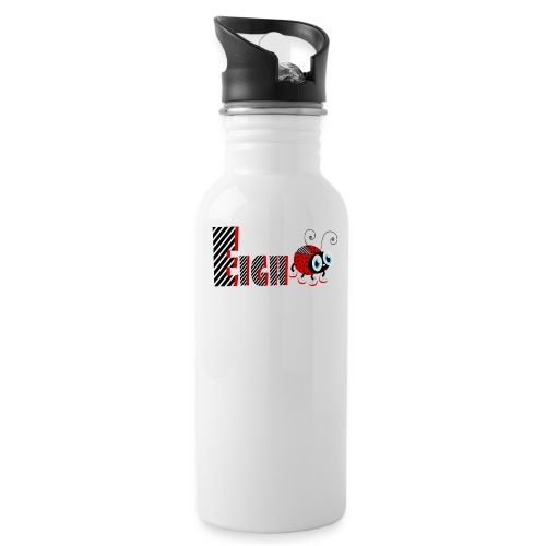 8nd Year Family Ladybug T-Shirts Gifts Daughter - Water Bottle