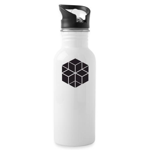 AGNO3 BLACK TRANSPARENT - Water Bottle