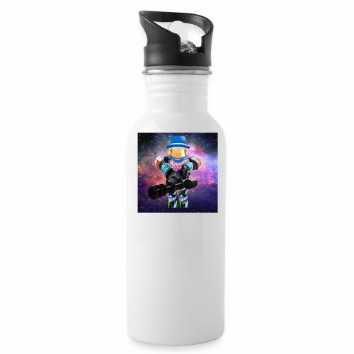 sean roblox character with minigun - Water Bottle