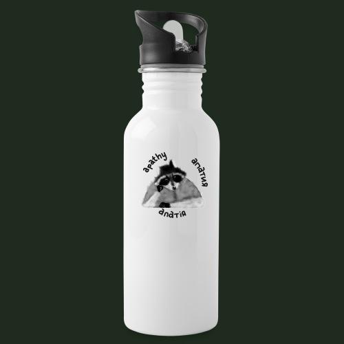 Apathy Raccoon - Water Bottle